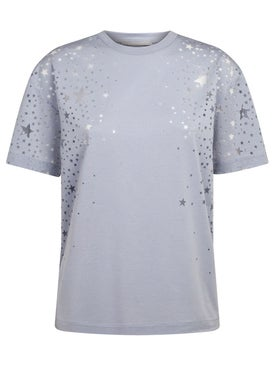 Stella Mccartney - Dream Blue Stars Devore T-shirt - Women