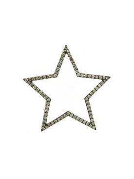 Rosa De La Cruz - 40mm Diamond Star Pendant - Women