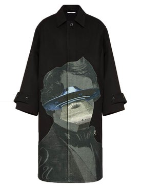 Valentino - Valentino X Undercover Ufo Face Jacket - Long