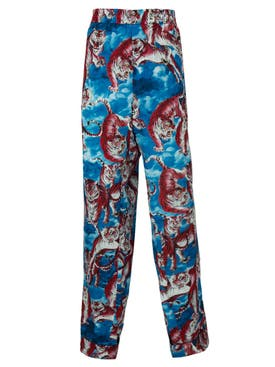 Valentino - Cloud Tiger Print Pants - Men