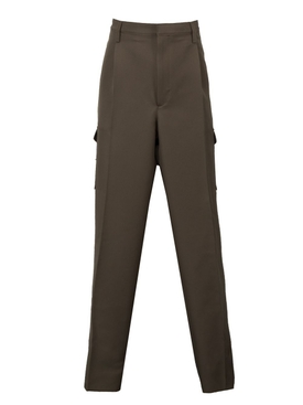 SIDE POCKET CARGO PANTS BROWN