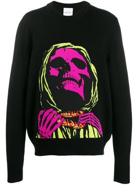 Nasaseasons - Skull Face Sweater - Men