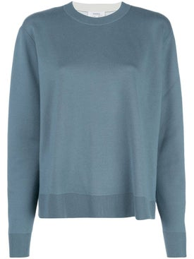 Casasola - Powder Blue Turtleneck Knit Jumper - Women