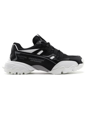 Valentino - Undercover Climber Sneakers Black And White - Men