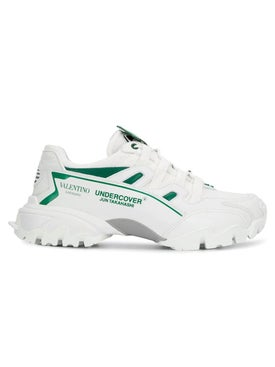 Valentino - Undercover Climber Sneakers White And Green - Men