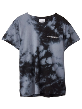 Nasaseasons - Midnight Dye T-shirt Black - Men
