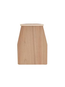 Natural Wood Dustpan BROWN