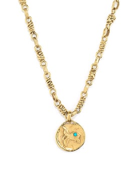 Goossens - The Webster X Goossens Pisces Talisman Necklace - Women