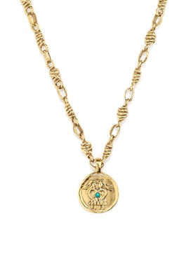 The Webster X Goossens Gemini Talisman Necklace