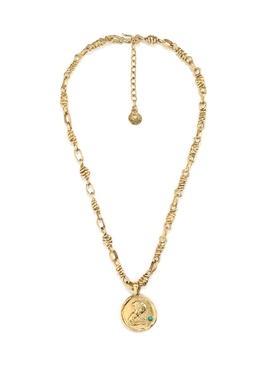 The Webster X Goossens Leo Talisman Necklace