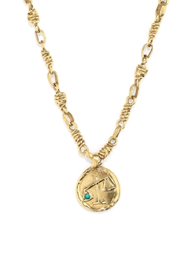 The Webster X Goossens Libra Talisman Necklace