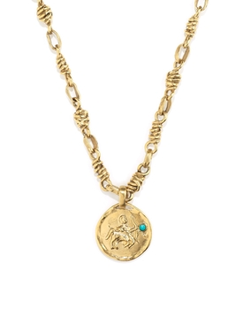 The Webster X Goossens Sagittarius Talisman Necklace
