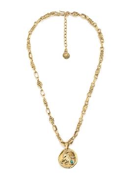 The Webster x Goossens Capricorn Talisman Necklace