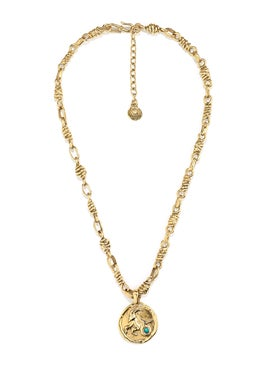Goossens - The Webster X Goossens Capricorn Talisman Necklace - Women
