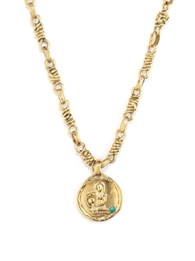 The Webster X Goossens Aquarius Talisman Necklace