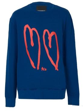Core Crew Neck sweater BLUE