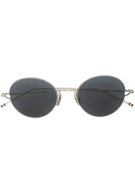 Thom Browne - Tinted Round Frame Sunglasses - Men