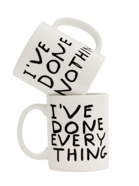 David Shrigley - I've Done Everything Mug White - Home