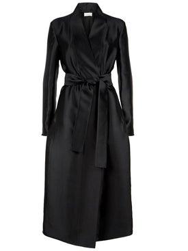 The Row - Nania Satin Long Coat - Women