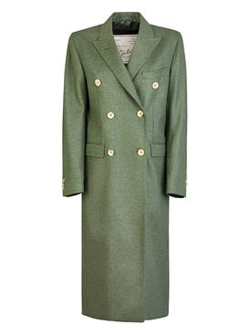 Giuliva Heritage Collection - Long Cindy Coat Green - Women