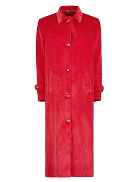 Giuliva Heritage Collection - Long Red Coat - Women