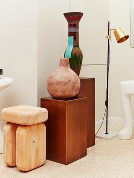 Multicolor Tall Graphic Vase MULTICOLOR