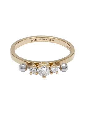 Delfina Delettrez - Two In One Three Diamond Ring - Women