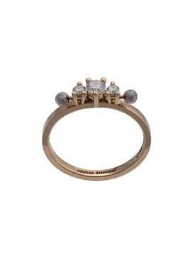 Two in one three stone diamond ring