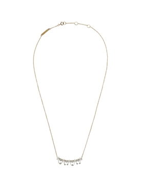 Two in one Diamonds and Pearls necklace