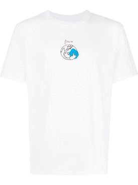 earth scribble T-shirt