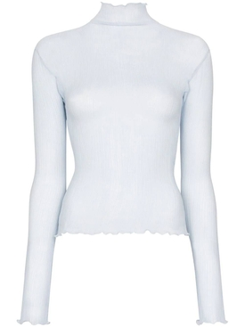 J.w. Anderson - Sheer Light Blue Top - Women