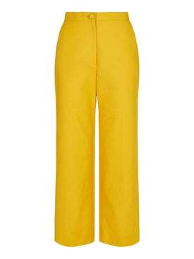 Alexachung - Yellow Wide-leg Trousers - Women