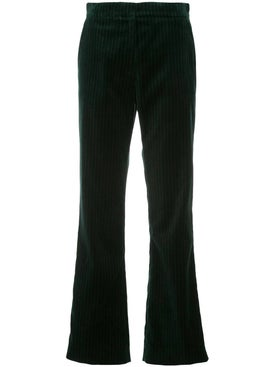 Alexachung - Green Tailored Velvet Pants - Women