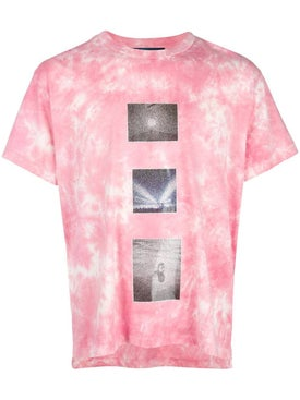 Lost Daze - Pink Tie Dye T-shirt - Men