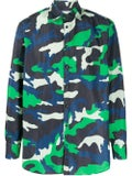 Valentino - Colorful Camouflage Shirt - Men