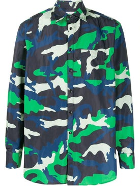 Valentino - Colorful Camouflage Shirt - Overshirts