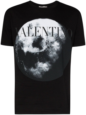 Moon logo graphic t-shirt