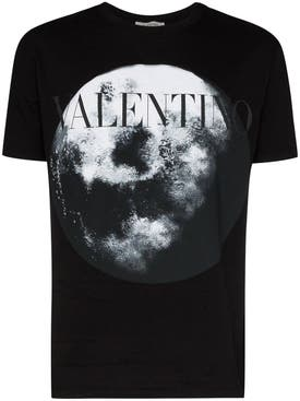 Valentino - Moon Logo Graphic T-shirt - Men