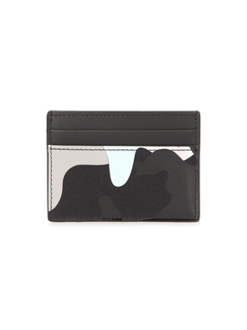 Multicolored camouflage cardholder