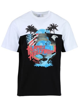 Planet Hollywood cut up t-shirt