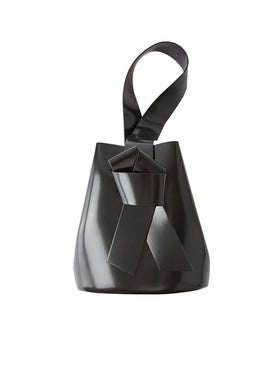 Acne Studios - Musubi Knotted Front Bucket Bag Black - Women