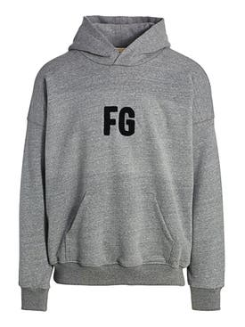 Fear Of God - Everyday Fg Hoodie, Heather Grey - Men