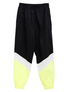 Vetements - Mustermann Trousers Black/white/yellow - Men