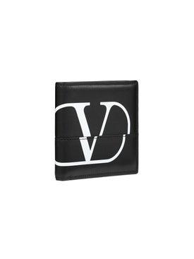 Valentino - Billfold Logo Wallet - Women