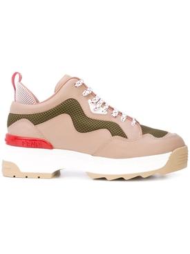 colorblock platform sneakers PINK