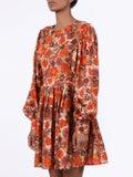 Lhd - Arnette Dress, Floral Rust - Women