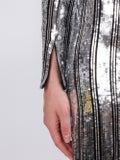 Galvan - Silver Stardust Gown - Evening