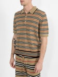 Burberry - Camel Icon Stripe Polo Shirt - Men