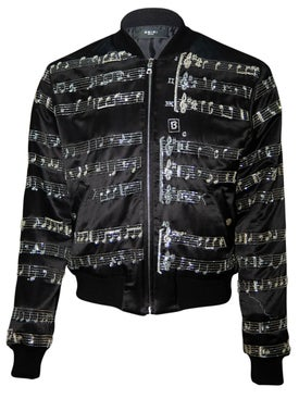 Amiri - Music Note Bomber - Men