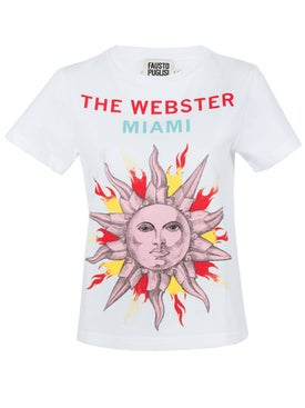 Fausto Puglisi - The Webster X Fausto Puglisi White T-shirt - Women